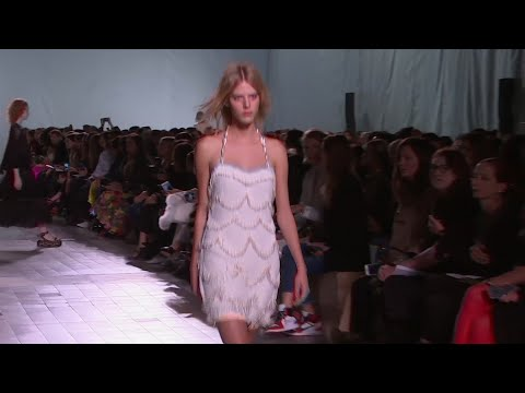 Oysters and pearls at Rykiel collection