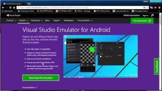 Xamarin Visual Studio emulador para android
