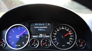 VW Touareg 3.0 V6 TDI 0-200 km/h