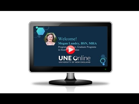 Discover Health Informatics from UNE Online
