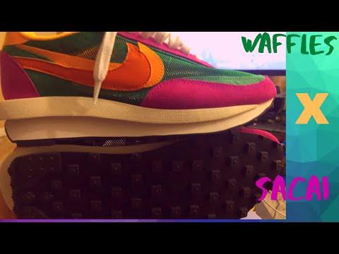 Nike x Sacai LDWaffle 'Summit White