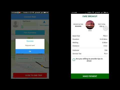 How to use OPEL CABS Driver and Passenger app (Payment Method: Payment using OPEL Money Wallet