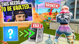 They Returned The WRONG Weapon.. It Needs To Be VAULTED! (Fortnite Battle Royale)
