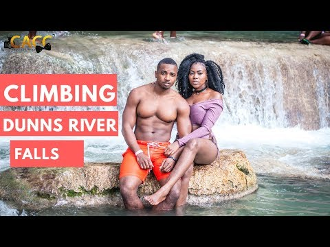 WE CLIMBED THE DUNNS RIVER FALLS!| TRAVEL JAMAICA VLOG