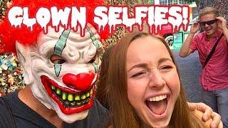 Halloween Scare Selfie Phone Prank!!
