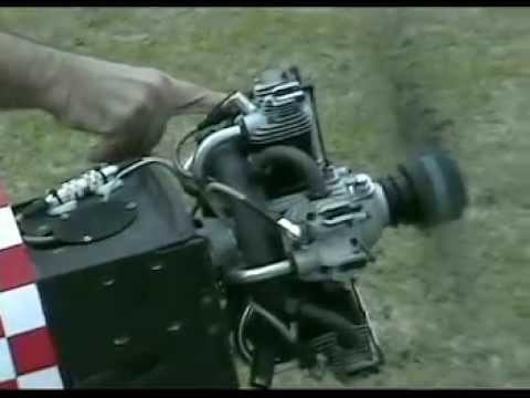 Motor Moki Radial 250 cc