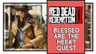 Red Dead Redemption 2 | Blessed are the Meek? | Robot Gamer Live