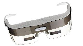 Широкомасштабная игра дополненной реальности и очки виртуальной реальности.