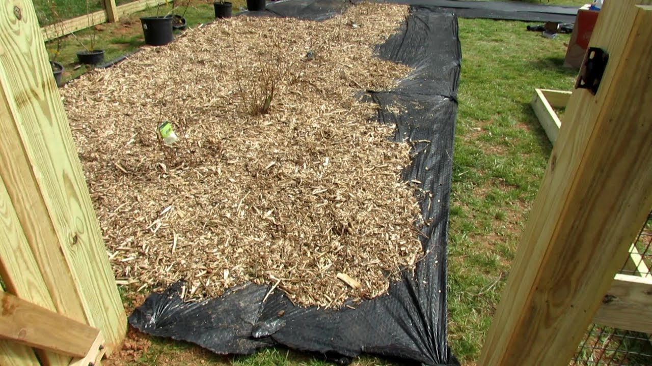 Building A Vegetable Garden Using Garden Fabric Cardboard
