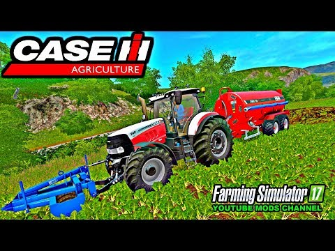 Farming Simulator 17 Mods Racing Case Puma Sugar Beet Harvest