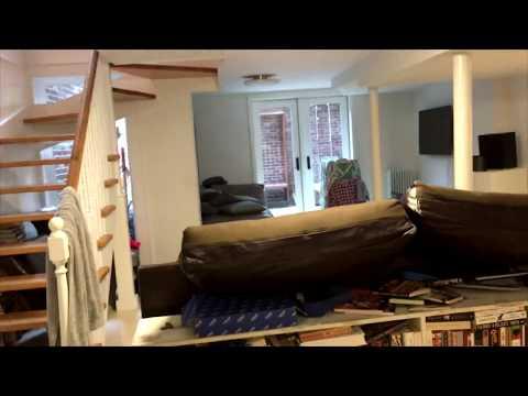 Нью-Йоркские подвалы частных домов. New York City basements of private houses