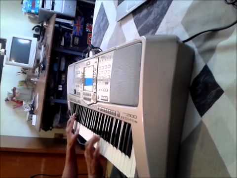 Mi teclado Yamaha PSR 2100 Demostración