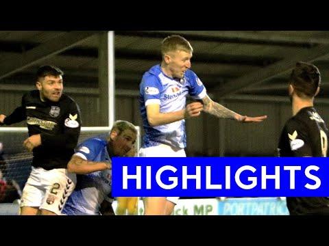 Stranraer Montrose Goals And Highlights