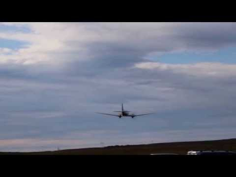dc3 Low pass engine sound