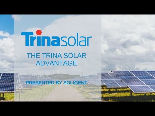 The Trina Solar Advantage | Company History & Competitive Advantages | Presented By Soligent
