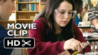 The DUFF Movie CLIP - Duffy Lab (2015) - Mae Whitman, Robbie Amell Comedy HD