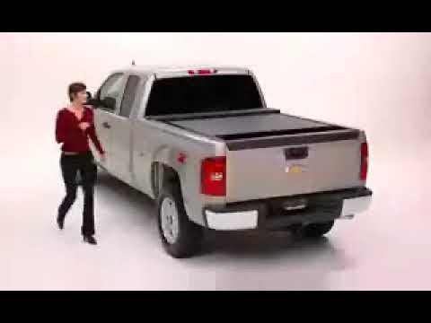 Roll N Lock Pick Up Truck Roll Top Tonneau Cover 4x4at Com Youtube