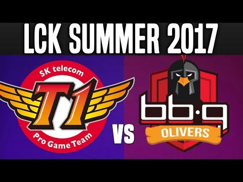SKT vs BBQ - Game 3 - LCK Summer 2017 Week 9 Day 5 - SKT T1 vs BBQ Olivers G3 W9D5 | LoL Esports