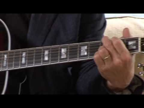 David Gilmour on 12 strings