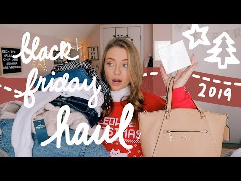 BLACK FRIDAY HAUL 2019 (try-on) 🌟