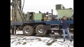 видео Бурение скважин на воду, бурение артезианских и песчаных скважин