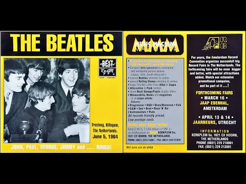 JOHN, PAUL, GEORGE, JIMMY and ..... RINGO! The Beatles