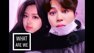 Jirose Rose blackpink Jimin bts What are we fmv