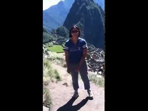 Cardio at Machu Picchu