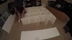 IKEA Kallax Assembly - 16 Cubes (Expedit)