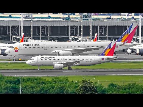 24 STUNNING Landings & Takeoffs at MNL | Manila Airport Plane Spotting