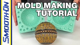 How To Make a 2 Piece Silicone Rubber Mold | Mold Making Tutorial