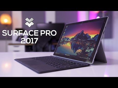 Thumbnail: Microsoft Surface Pro 2017 Review: Should You Buy this or the Surface Laptop?