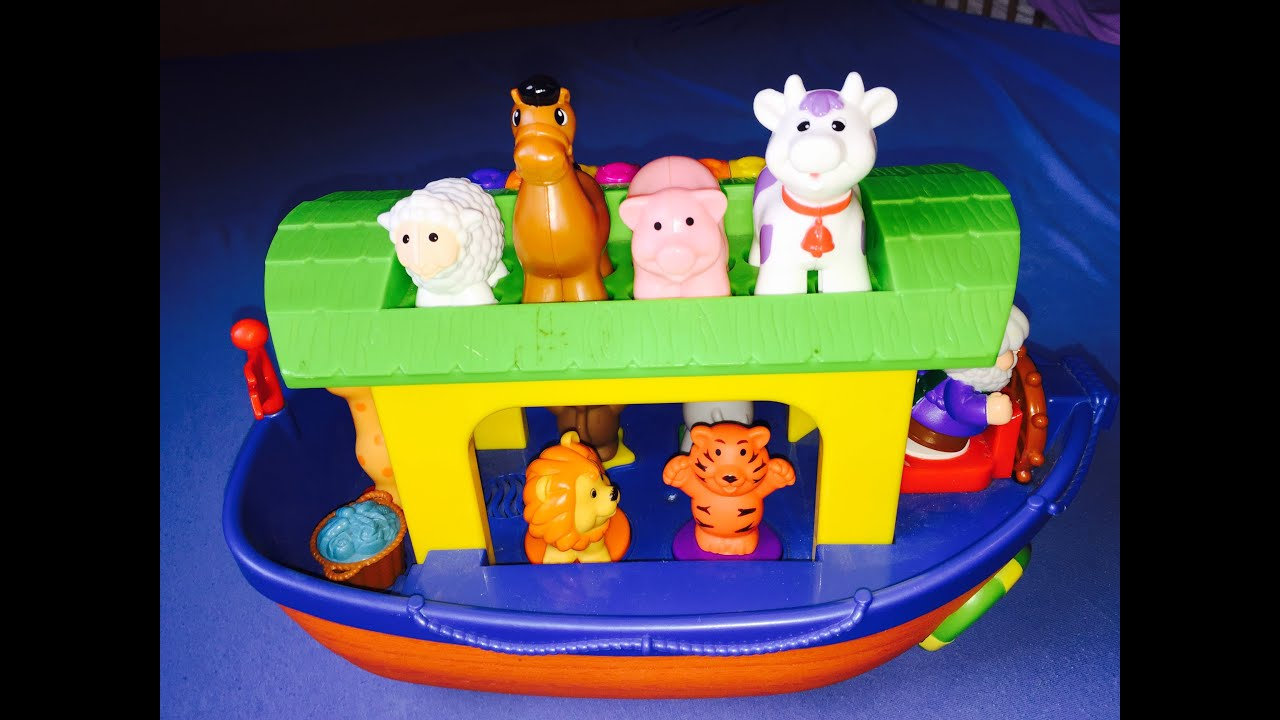kiddieland arche noah toy noahs ark youtube