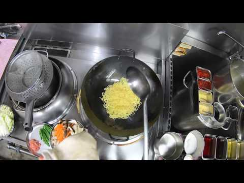 4K Pro【上海焼きそば 】Shanghai Chow Mein Noodle 上海炒麺