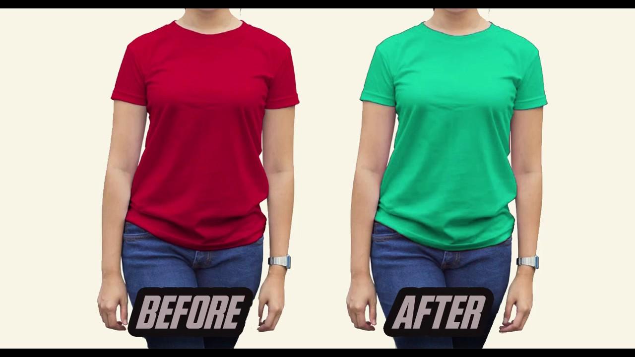 Cara Merubah Warna Baju Hitam Menjadi Putih Di Photoshop