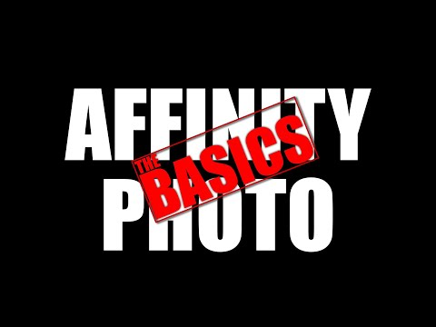 Affinity Photo -  A Basic Introduction to Layers and Adjustments