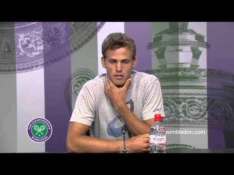 Vasek Pospisil Quarter-Final Press Conference