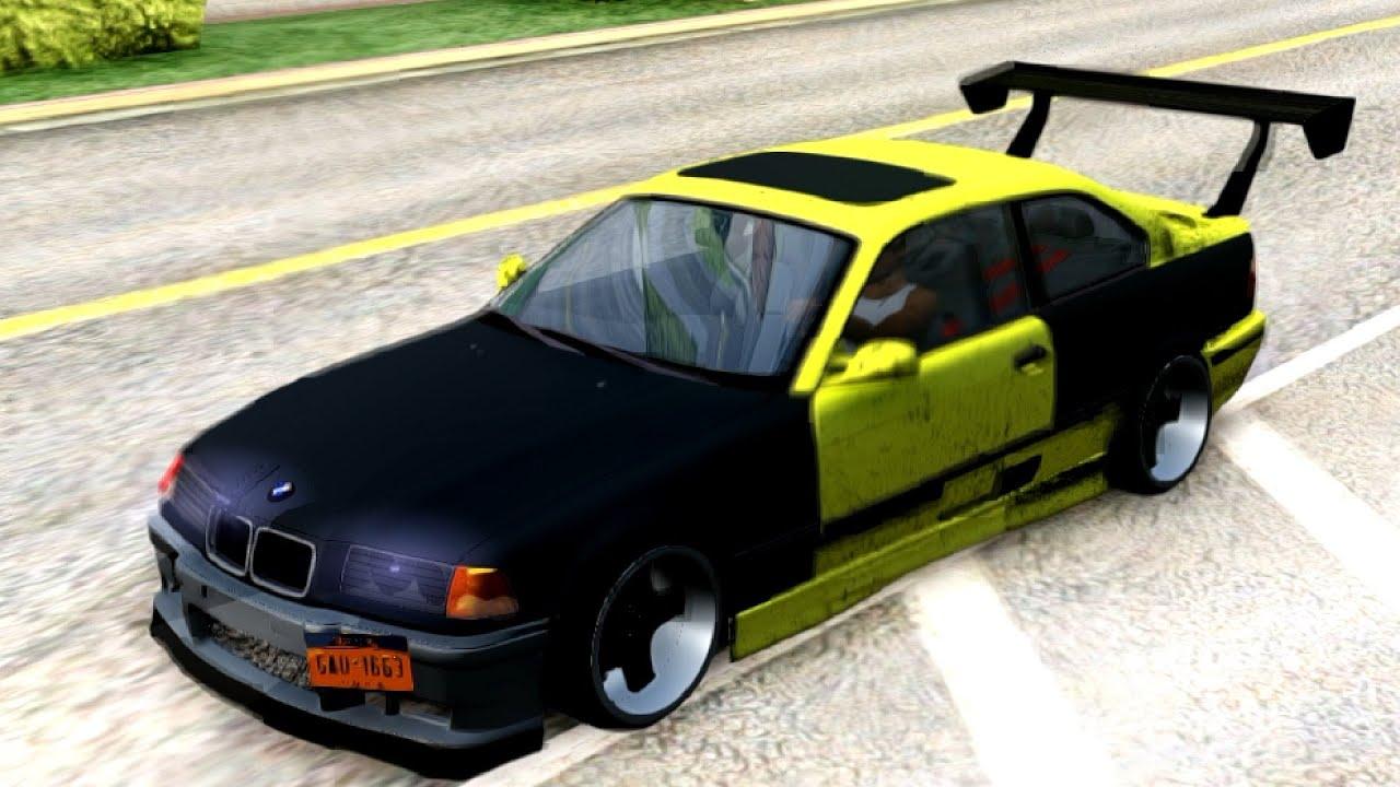 BMW e36 Felony Form | #76 New Cars / Vehicles 6 to GTA San Andreas ...