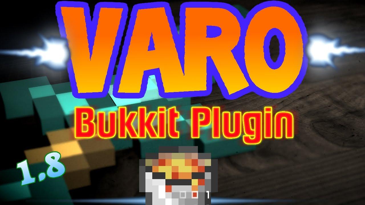 VARO BukkitSpigot Plugin Server Erstellen Download YouTube - Eigenen minecraft varo server erstellen