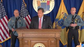 Gov. Christie: Patrick Callahan Will Continue NJ State Police's Tradition Of Excellence