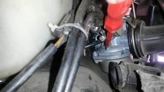 видео Настройка карбюратора скутера, на примере Хонда Дио