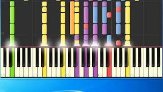 [Piano Tutorial Synthesia]Les bicyclettes de belsize - Pettenati Gianni