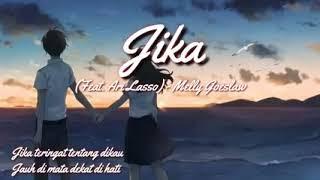 Lirik lagu JIKA(cover) |Melly Goeslaw feat Ari Lasso