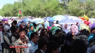 خبرگزاری #خاورمیانه: ویدیوی #اختصاصی از# تظاهرات جنبش روشنایی در #کابل