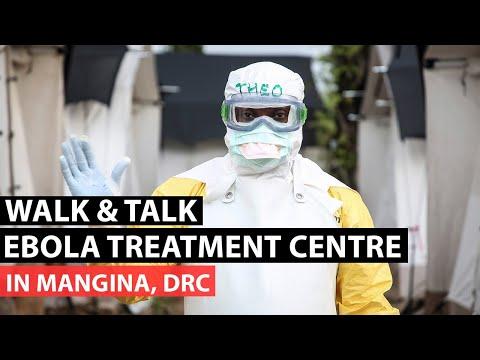 Walk & Talk Ebola Treatment Centre in Mangina, DRC