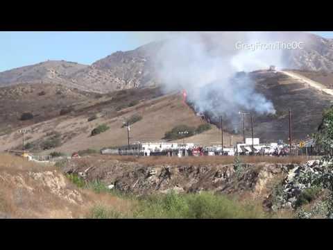 Vegetation Fire - Irvine, California - October 21, 2016