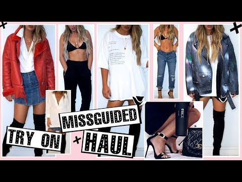 MISSGUIDED TRY ON CLOTHING HAUL  || Transitional fall style || Tashietinks