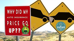 3 reasons your car insurance price went up