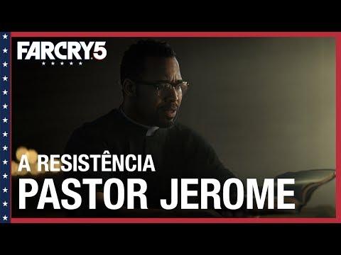 Far Cry 5: A Resistência - Pastor Jerome Jeffries