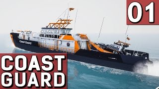 Der Küstenwache Simulator COAST GUARD #1 Release Gameplay Der See Adventure Simulation